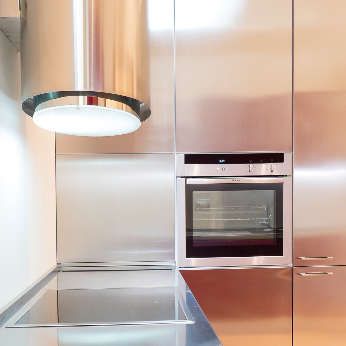 Cucine anta acciaio su misura