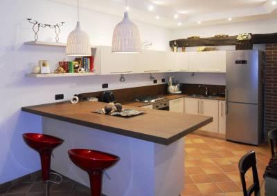 13 - Cucine Cibi ante opache su misura