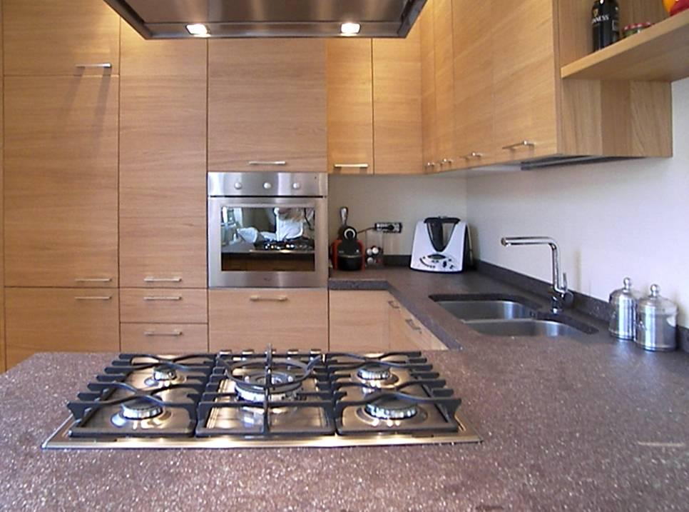 Cucina anta legno cibi cucine bagni armadi e arredi su misura - Cucine su misura compresa di elettrodomestici prezzi ...
