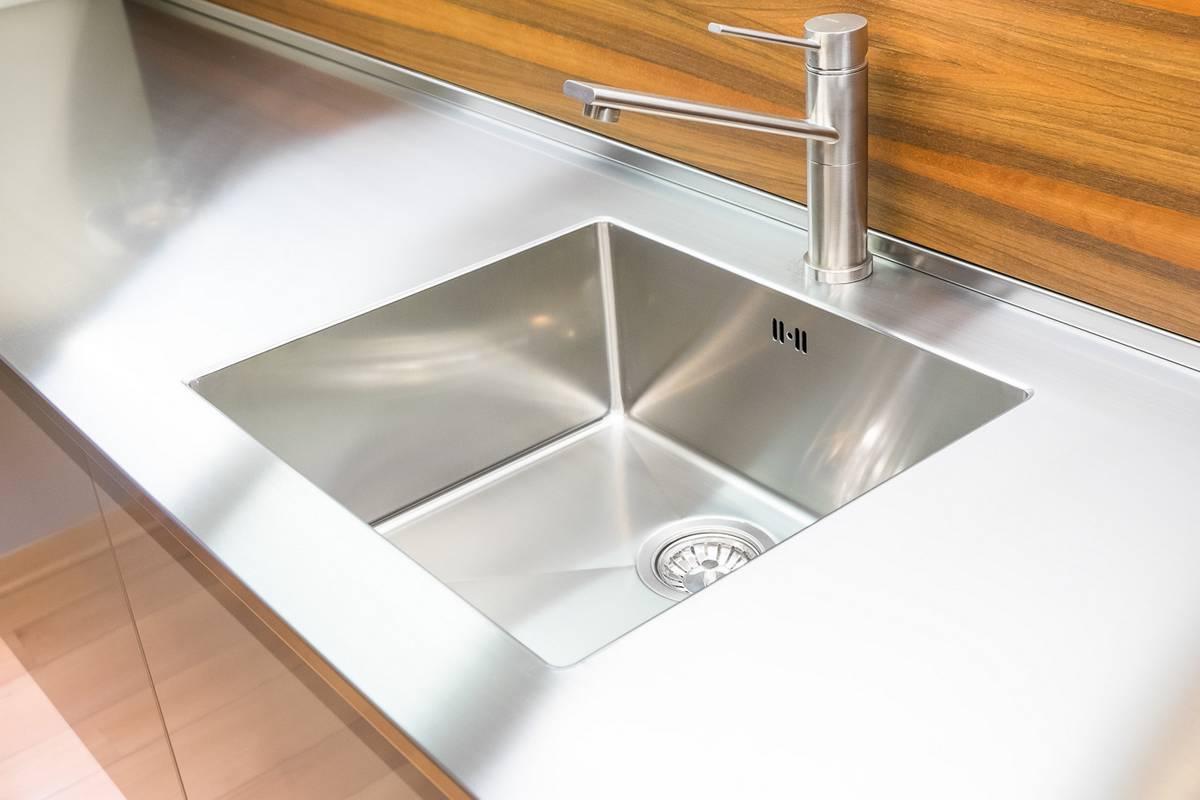 Cucine anta acciaio cibi cucine bagni armadi e - Coprilavello cucina acciaio ...