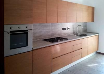 5 - Cucine anta legno su misura
