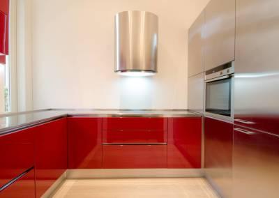 1 - Cucina acciaio su misura