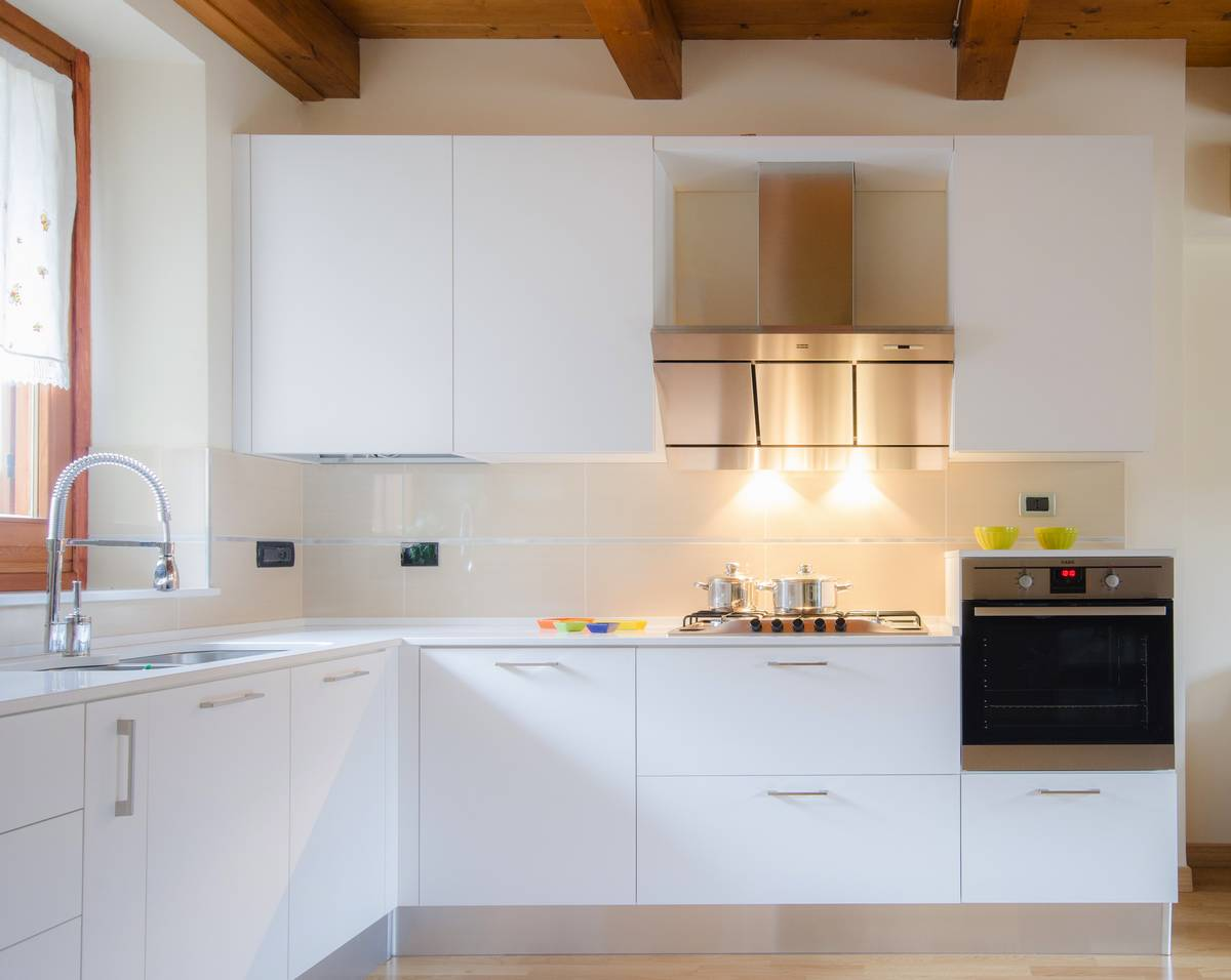 Beautiful cucine total white ideas - Cucine e bagni ...