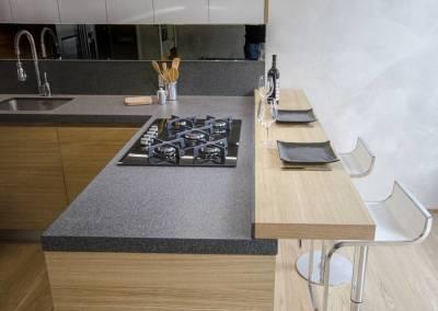 3 - Cucina legno su misura