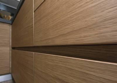 5 - Cucina legno su misura