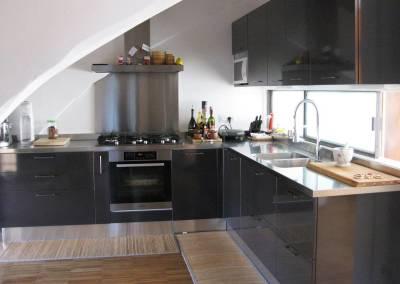 10 - Cucina personalizzata lucida