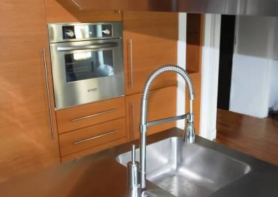 2 - Cucine anta acciaio su misura