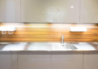 3 - Cucina anta acciaio