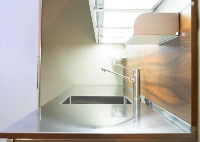 4 - Cucina top acciaio