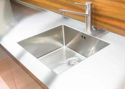 5 - Cucina acciaio su misura