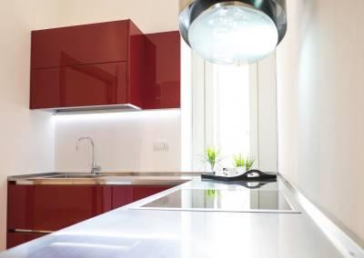 2 - Cucina acciaio su misura