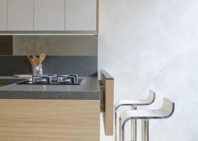 2 - Cucina legno su misura