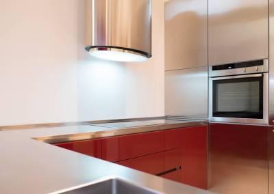 3 - Cucina acciaio su misura