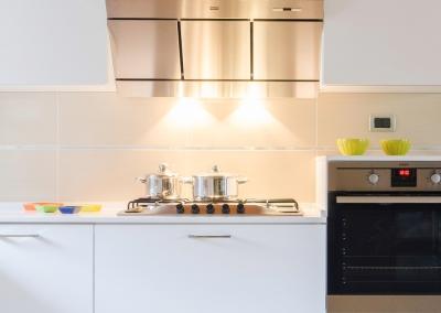 4 - Cucina opaca su misura