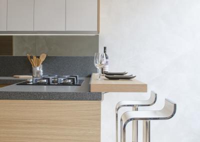 6 - Cucina legno su misura